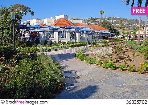 Free Heisler Park Gardens And Walkway, Laguna Beach, Ca Stock Photography - 36335702