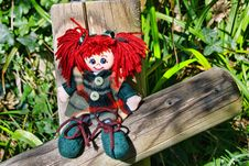 Free Raggedy Doll Stock Image - 36330711