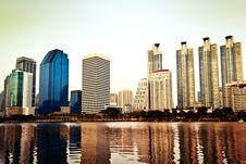 Free City Skyscrapers Stock Image - 36331731