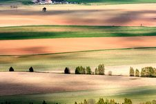 Free Agricultural Landscape Stock Image - 36334411