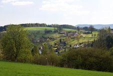 Free Czech Village Royalty Free Stock Photos - 36334518
