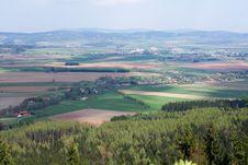 Czech Countryside Royalty Free Stock Photos