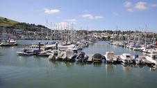 Dartmouth Marina Devon Boats And Yachts Royalty Free Stock Image
