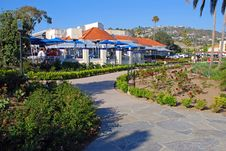 Free Heisler Park Gardens And Walkway, Laguna Beach, Ca Stock Photography - 36335702