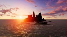 Free Desert Island Stock Images - 36338984