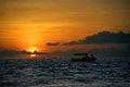 Free Famous Sunset At Key West Royalty Free Stock Photo - 36341225