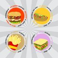 Free Fast Food Stock Photography - 36342592