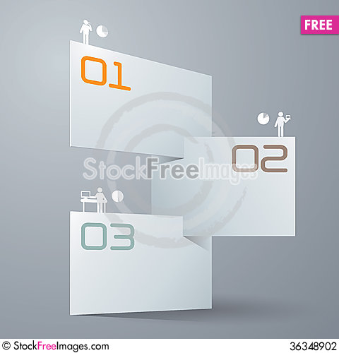 Free Abstract Infographics Template Design Stock Photography - 36348902