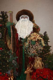 Free Father Christmas Display Royalty Free Stock Photos - 36340358