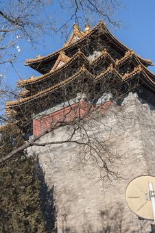 Free Corner Tower Of Forbidden City Stock Photo - 36340390