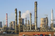 Free Oil And Gas Refining Installations Stock Images - 36342324