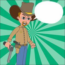 Free Cartoon Guy Illustration Stock Photos - 36342843