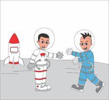 Free Cartoon Guy Illustration Royalty Free Stock Photos - 36342858