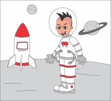Free Cartoon Guy Illustration Royalty Free Stock Photography - 36342877
