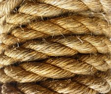 Rope Coiled Royalty Free Stock Image