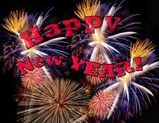Free Happy New Year! Stock Photos - 36349703