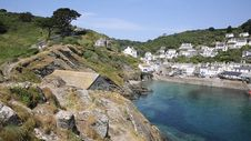 Summer In Polperro Cornwall England UK