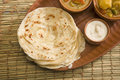 Free Potato Paratha With Potato Masala Curry Stock Images - 36350324