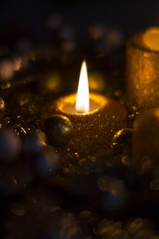 Free Candle Flames Stock Photography - 36353122