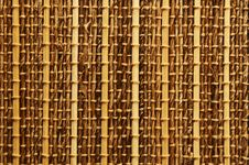 Free Empty Bamboo Table Mat Royalty Free Stock Photo - 36353965