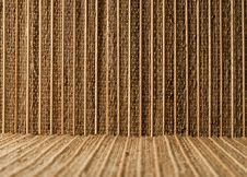 Free Empty Bamboo Table Mat Stock Photography - 36354002
