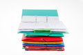 Free Office Folders And Binder Stock Photography - 36369512