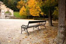 Park Schonbrunn Royalty Free Stock Photo