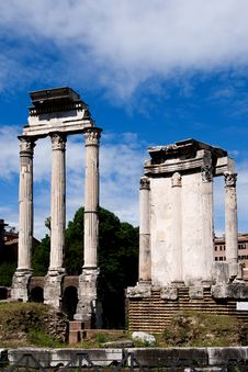 Free Roman Forum, Rome, Italy Stock Photos - 36365293