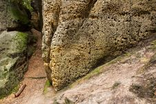 Free Rock Formations Royalty Free Stock Photo - 36365965