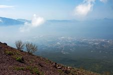 Free View From Vesuvius, Italy Stock Photography - 36365992