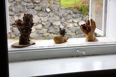 Free Decoration On The Window Stock Photo - 36367040