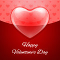 Free Elegant Valentine's Day Greeting Card Royalty Free Stock Photo - 36386965