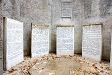 Free Jewish Memorial Royalty Free Stock Images - 36380169