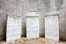 Free Jewish Memorial Royalty Free Stock Image - 36380206