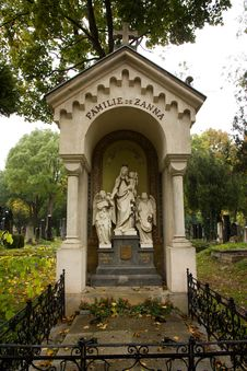Cemetery In Vienna Stock Images