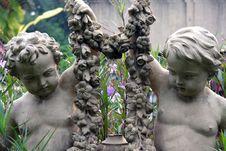 Free Statue Of Angle. Stock Photo - 36384430