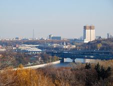 Free Panorama Of Moscow From Sparrow Hills Royalty Free Stock Photo - 36385835