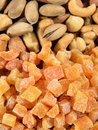 Free Mixed Nuts And Dried Apricots Stock Photo - 36391840