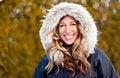 Free Woman Enjoying Winter Stock Images - 36397904