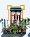 Free Spanish Old Window Royalty Free Stock Image - 36398666