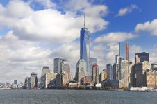 Free View Over Manhattan Royalty Free Stock Photo - 36391025