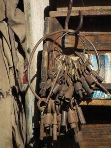 Free Old Keys Stock Photo - 36394580