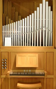 Free Organ With Pipes Of Porcelain Stock Images - 36394734