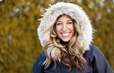 Free Woman Enjoying Winter Stock Images - 36397904