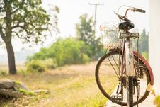 Old Bicycle. Royalty Free Stock Image