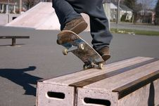 Free Skateboard Grind Royalty Free Stock Photography - 36398417