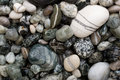 Free Black And White Pebbles. Stock Image - 3648461