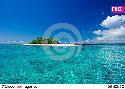 Free Tropical Island Vacation Paradise Stock Photo - 3640010