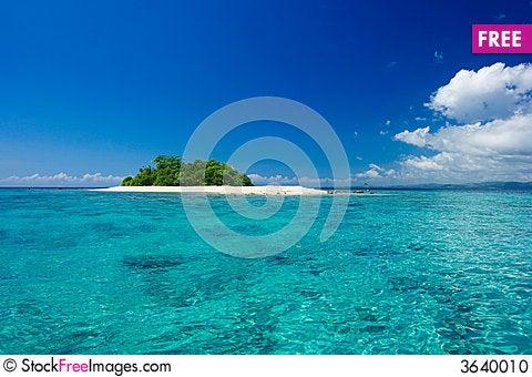 Free Tropical Island Vacation Paradise Stock Photo - 3640010