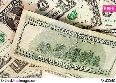 Free Money! Stock Photo - 3643050